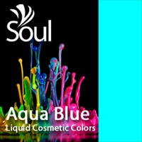 Warna Biru Aqua - 10ml