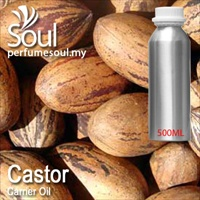 Minyak Carrier Castor - 500ml
