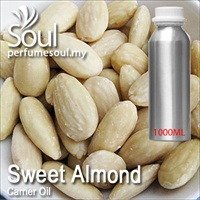 Minyak Carrier Sweet Almond - 1000ml